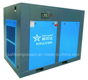 Zhongshan Manufacturer Permanent Magnet Synchronous Integrated Screw Compressor 110kw pictures & photos