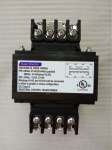 UL/cUL Listed Control Transformers From Basic Electric pictures & photos