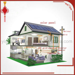 10kw Grid Solar Power System by Solar Mudel and Grid Inverter and Combiner Box and Two-Way Meters and Mains Supply pictures & photos