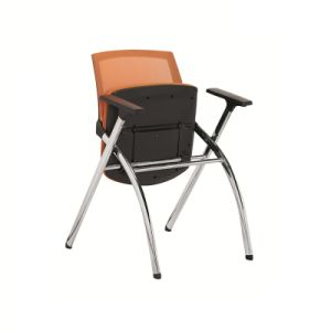 High Standard Folding Chair with Fixed Armrest pictures & photos