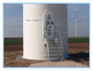 Door Frame for Wind Tower pictures & photos