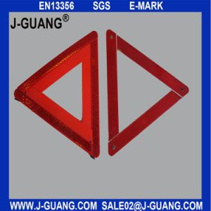 Safety Car Warning Triangle Reflector, Car Accessories (JG-A-01) pictures & photos