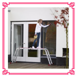 Foldable Ladder Scaffolding Platform Ladder pictures & photos