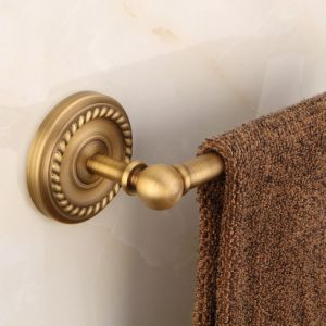 Flg Luxury Antique Solid Brass Towel Bar Wall Mounted pictures & photos