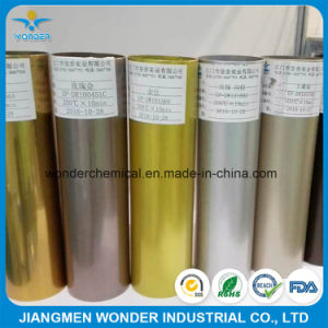 Metallic Gold Paint Sparkling Gold Powder Coating Paint pictures & photos