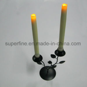 Beautiful Realistic Shining Indoor Using Pillar Cheap LED Taper Candles with Battery Operated pictures & photos