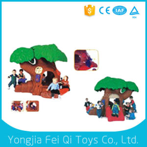 Outdoor Kid Toy Plastic Happy Playhouse Dollhouse pictures & photos