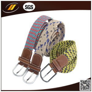 Men′s Waist Woven Belt Elastic Braided Belts