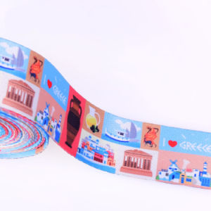 Eco-Friendly White Polyester/Nylon/Cotton Strap Webbings with Fasteners pictures & photos