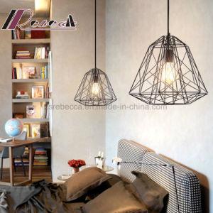 Simpel Design Black Metal Hollow out Pendant Lamp pictures & photos