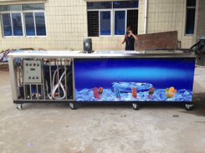 Popsicle Machine with Water Cooling in 32000PCS/Day pictures & photos