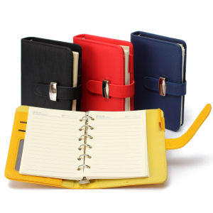 Modern Design A7 Personal Organiser Planner PU Leather Cover Diary Notebook pictures & photos