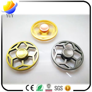 Hand Spinner Alunimun Alloy LED Flashing Fidget Spinner Toy pictures & photos