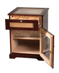 Wood Cigar Humidor - Desktop 150 Count - High Gloss Piano Finish (LW-JB03116) pictures & photos