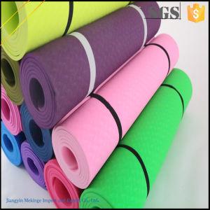 Good Reputation Yoga Mat Wholesale Custom TPE Yoga Mat pictures & photos