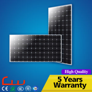 Hot Sale 300W Black Frame Monocrystalline Solar Panel Price pictures & photos