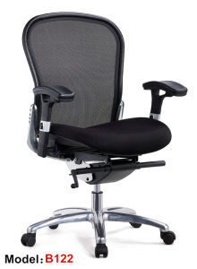 Office Mesh Swivel Ergonomic Meeting Computer Manager Chair (B122) pictures & photos