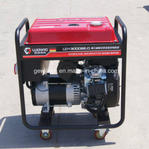 Ludwig Single Phase/Three Phase Open Frame Gasoline Generator with Competitive Price pictures & photos