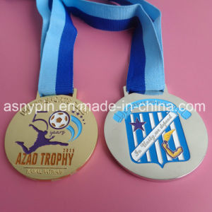 Metal Football Club Round Medals Custom pictures & photos