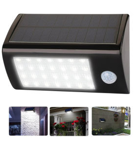 28LEDs 560lm LED Solar Light Solar Powered Outdoor Lights Wireless Waterproof IP65 with PIR Motion Sensor Lamp pictures & photos