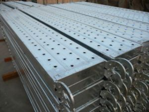 Scaffolding Galvanized Steel Plank/Board/Deck pictures & photos