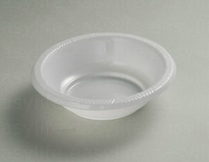 5′′ (12cm) B051233 Disposable PS Plastic Round Bowl pictures & photos