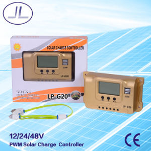 PWM Solar Charge Controller LP-G20 with LCD Display pictures & photos