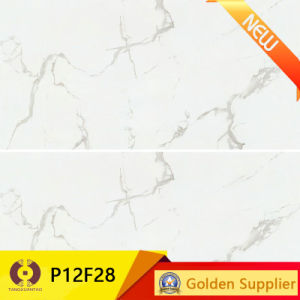 1200X600mm White Marble Stone Tile Porcelain Floor Wall Tile (P12F28) pictures & photos
