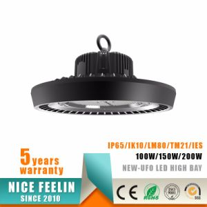 13000lm 100W LED Industrial Light UFO LED High Bay Lamps pictures & photos