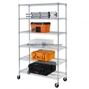 Top Sale Chrome Metal Wire Shelving by Racking Made in China Supplier pictures & photos