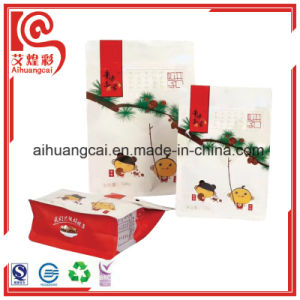 Colourful Plastic Paper Composite Stand up Heat Seal Bag pictures & photos