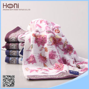 China Supplier Embroidered Face Towel Wholesale pictures & photos