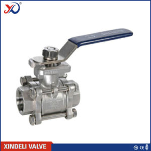 Factory 3 PC NPT Ball Valve of Anit-Static Device pictures & photos