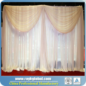 High Quality Pipe and Drape Malaysia Backdrop for Wedding pictures & photos