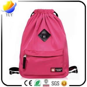 Customized Logo Drawstring Backpack Bag and Nylon Bag pictures & photos