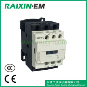 Raixin New Type Cjx2-N12 AC Contactor 3p AC-3 380V 5.5kw pictures & photos