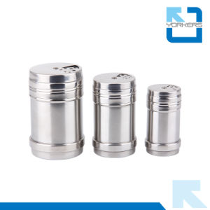 Stainless Steel Metal Spice Shaker Cans with Lid, Spice Tins pictures & photos
