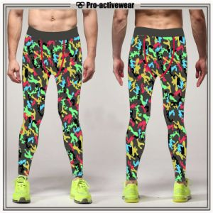 Compression Tights Wholesale Custom High Quality Fitness Wear Sport Pants pictures & photos