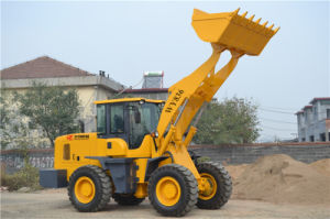 3ton Joystick Operation Front End Loader with 1.7m3 Bucket pictures & photos
