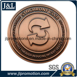 Customer Design Antique Brass Metal Coin, Challenge Coin pictures & photos