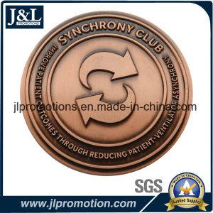 Customer Design Antique Brass Metal Coin pictures & photos