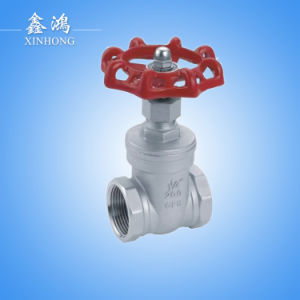 """Hight Quality 304 Stainless Steel Gate Valve Dn50 2"""" pictures & photos"""