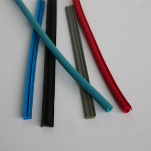 EPDM Weather Stripping Extruded Rubber Strip for Door Sealing pictures & photos