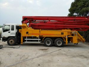 Good Condition Used Putzmeister Concrete Pump Truck 37m for Sale pictures & photos