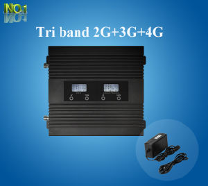 Tri-Band 850/1900/Aws 1700/2100MHz Mobile Signal Booster 2g 3G 4G Signal Repeater Kit pictures & photos