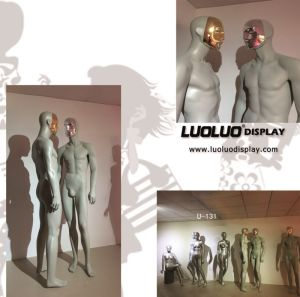 Fashion Male Mannequin with Chrome Face pictures & photos