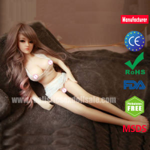 Top Quality 65cm Small Silicone Love Doll Mini Sex Doll with Metal Skeleton pictures & photos