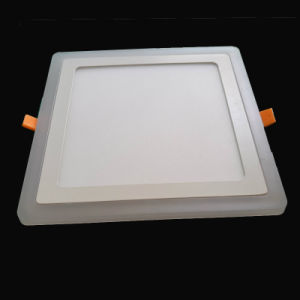 6+2 W LED Panel Light with Blue Edge pictures & photos