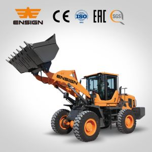 Chinese Brand Ensign Construction Machinery Front Wheel Loader Model Yx638 pictures & photos