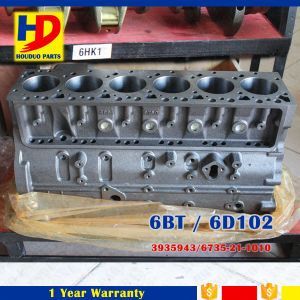 Excavator Engine Parts 6bt 6D102 (3935943 6735-21-1010) Cylinder Block pictures & photos
